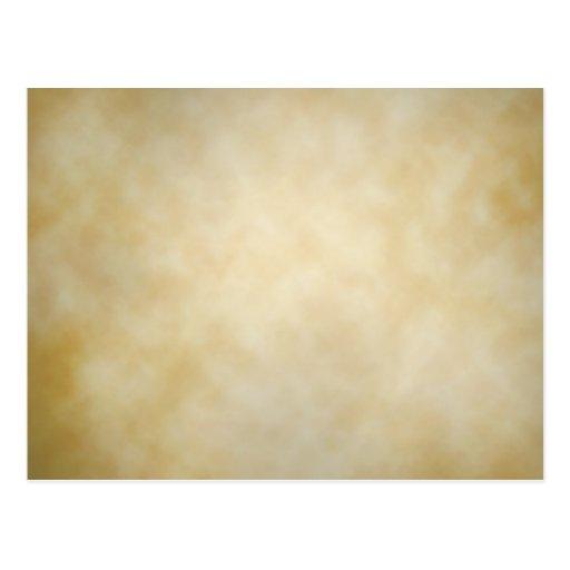 Fundo antigo da textura da vinheta do pergaminho cartão postal