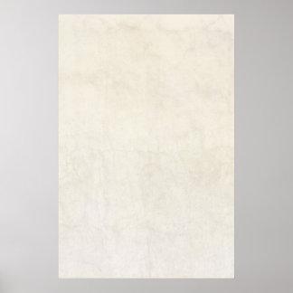 Fundo antigo de papel do pergaminho do marfim do poster