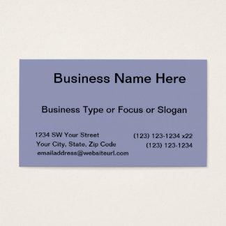 Fundo azul escuro cartão de visitas