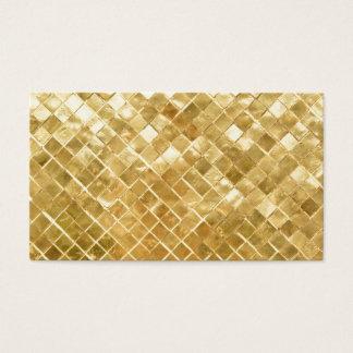 Fundo brilhante do brilho do ouro cartão de visitas