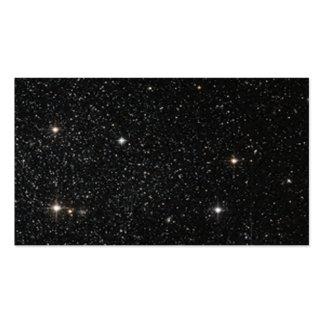 Fundo - céu nocturno & estrelas cartão de visita