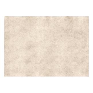 Fundo claro do papel da antiguidade do pergaminho cartão de visita grande