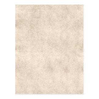 Fundo claro do papel da antiguidade do pergaminho cartão postal