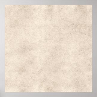 Fundo claro do papel da antiguidade do pergaminho  posters