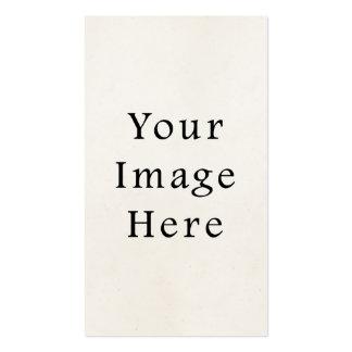 Fundo claro do papel de pergaminho dos 1850s do vi cartão de visita