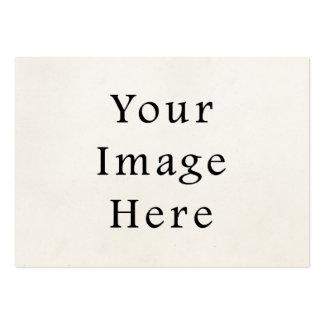 Fundo claro do papel de pergaminho dos 1850s do vi cartão de visita grande