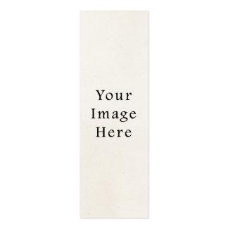 Fundo claro do papel de pergaminho dos 1850s do vi cartão de visita skinny