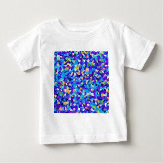 Fundo colorido camiseta para bebê