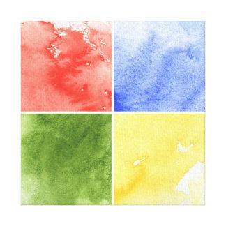 fundo colorido da aguarela para seu design impressão em tela