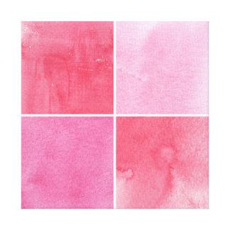 fundo colorido da aguarela para seus 3 impressão em tela