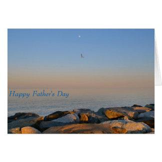 fundo da baía de Chesapeake do cartão do dia dos