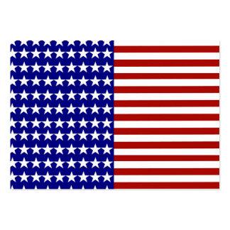 Fundo da bandeira dos Estados Unidos Modelos Cartão De Visita