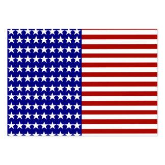 Fundo da bandeira dos Estados Unidos Modelos Cartoes De Visita
