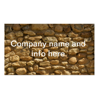 Fundo da parede de tijolo cartão de visita