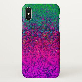 fundo da poeira do brilho do caso do iPhone X Capa Para iPhone X