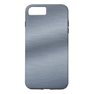 Fundo de aço escovado do olhar capa iPhone 7 plus