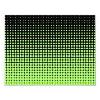 Fundo de intervalo mínimo verde e preto retro impressão de foto