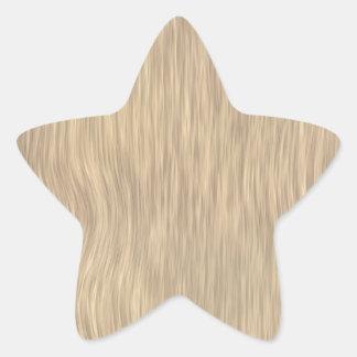 Fundo de madeira áspero da grão na cor desvanecida adesito estrela