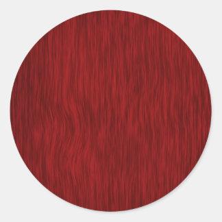 Fundo de madeira áspero da grão - vermelho adesivo