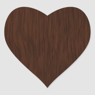 Fundo de madeira áspero escuro da grão adesivos em forma de corações