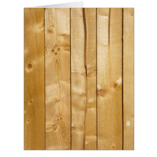 Fundo de madeira brilhante cartão