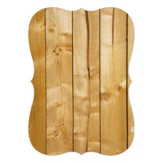 Fundo de madeira brilhante convites