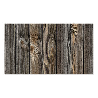 Fundo de madeira cartão de visita