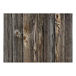 Fundo de madeira cartão de visita grande