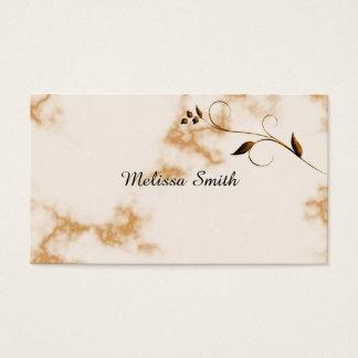 Fundo de mármore cartão de visitas