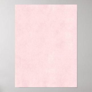 Fundo de papel velho do pergaminho do rosa do rosa poster