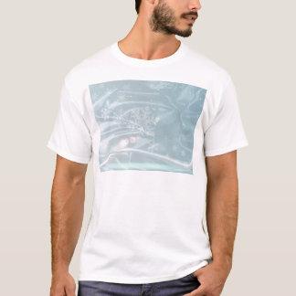 Fundo de seda do Natal Camiseta