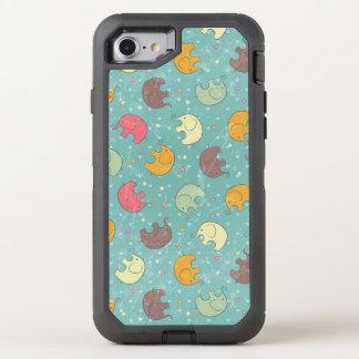 fundo do bebê capa para iPhone 7 OtterBox defender
