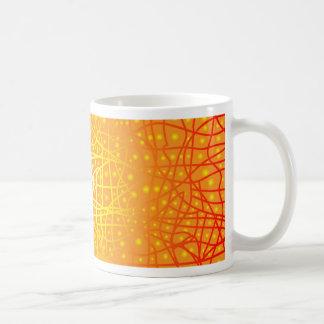 Fundo do calor caneca de café