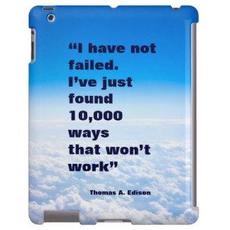 Fundo do céu do sucesso das citações de Thomas Capa Para iPad