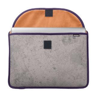 Fundo do concreto do black&white do sopro da bolsas para MacBook pro