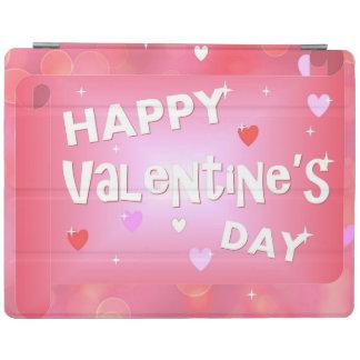 Fundo do feliz dia dos namorados capa smart para iPad