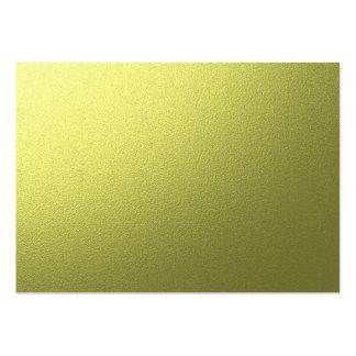 fundo do ouro cartão de visita grande