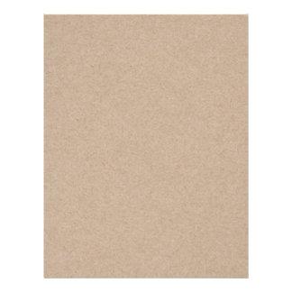 Fundo do papel de embalagem de Brown Impresso Panfleto Personalizados