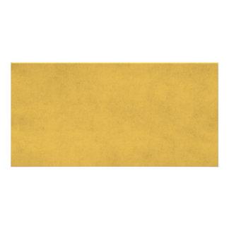 Fundo do pergaminho do papel do ouro amarelo do cartão com foto