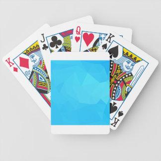 Fundo do polígono do abstrato escuro de turquesa jogos de baralhos