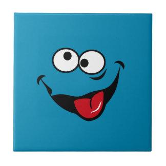 Fundo engraçado do azul dos desenhos animados do