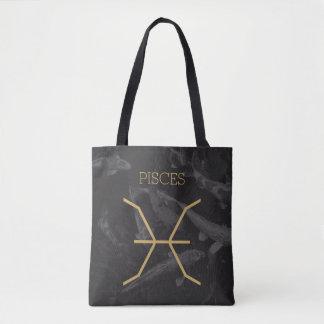 Fundo feito sob encomenda do sinal   do zodíaco bolsa tote