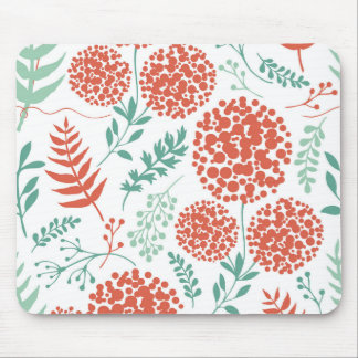 Fundo floral abstrato | Mousepad