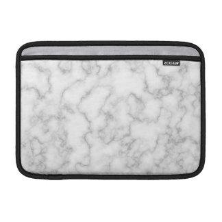 Fundo marmoreado do teste padrão da pedra do bolsa de MacBook air