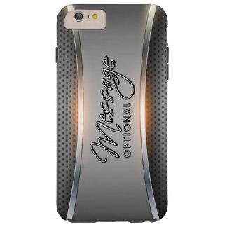 Fundo metálico 3 capas iPhone 6 plus tough