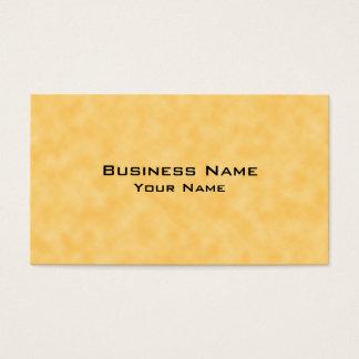 Fundo modelado amarelo cartão de visitas
