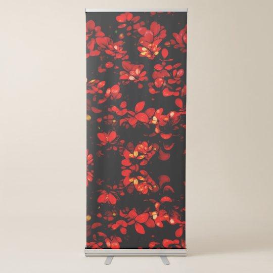 fundo moderno e abstrato banner retrátil