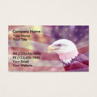 Fundo patriótico dos cartões de visitas