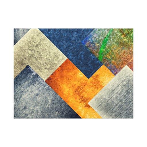fundo real impressão de canvas esticadas