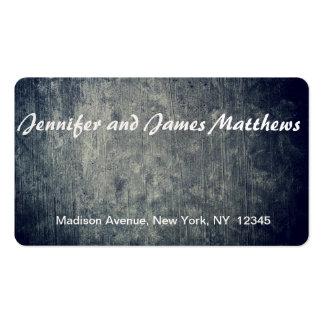 fundo real cartão de visita